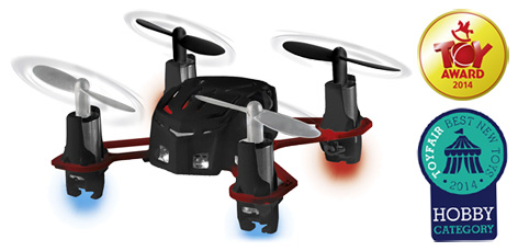 The award-winning quadrocopter from Revell