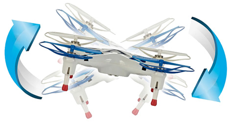 Revell X-Spy Quadcopter Drone