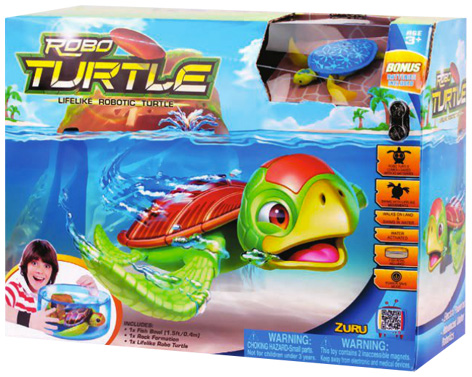 Robo Turtle packaging