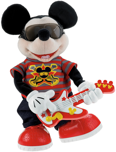 The Hilarious Rock Star Mickey Toy