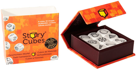 The Rory's Story Cubes Game from Coiledspring Games