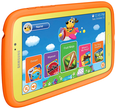 Samsung's Galaxy Tab 3 Kids Android Tablet