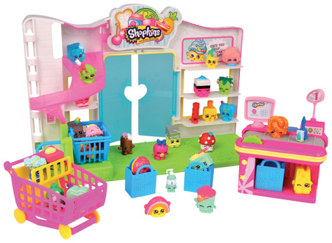 Shopkins Supermarket Playset from Flair