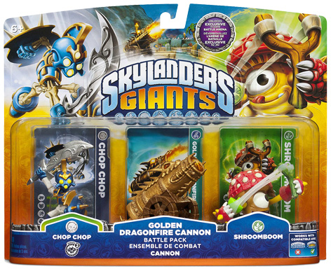 Skylanders Giant Toy Packaging