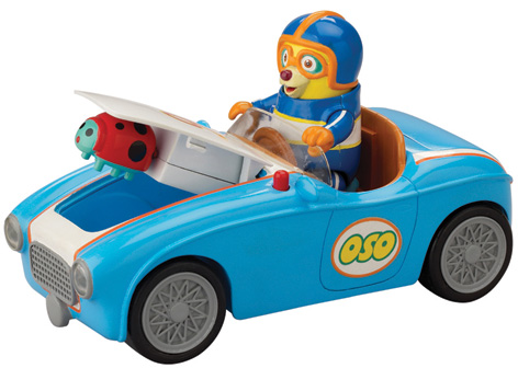 OSO's Go Go Race Car Toy from Learning Curve