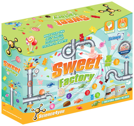 Sweet Factory Packaging