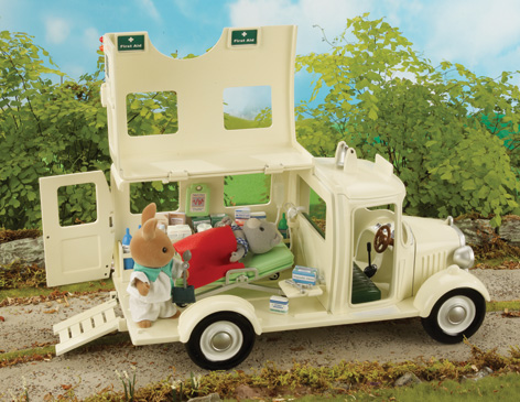 The Sylvanian Families Ambulance