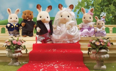 william and kate royal wedding photos. The Sylvanian Families Royal