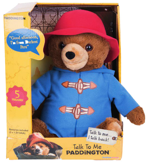 Talk To Me Paddington soft toy