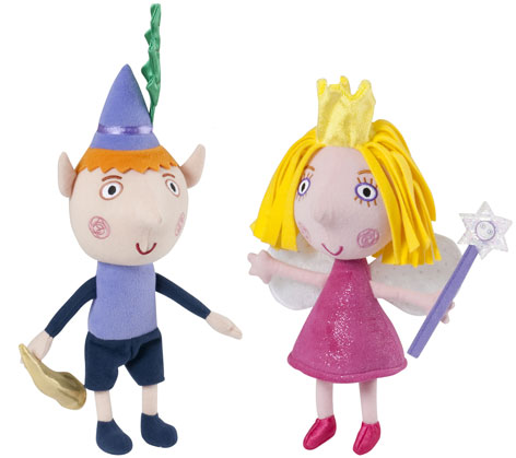 Talking Ben and Holly Toys