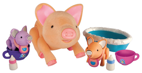 The Teacup Piggies Piglets Bedtime Set