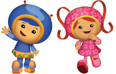 Geo and Milli from Team Umizoomi