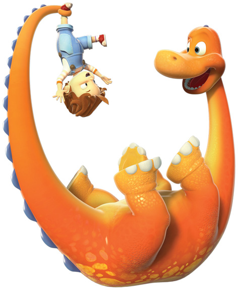 Boy and the Dinosaur
