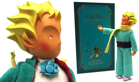 A limited-edition, vinyl action figure toy of The Little Prince from How2Work