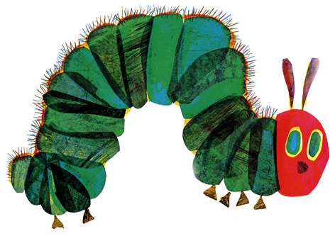 The official Very Hungry Caterpillar logo
