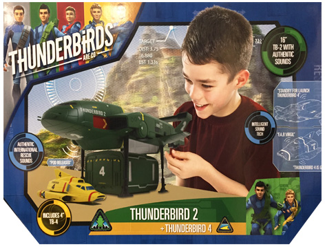 Thunderbird 2 packaging