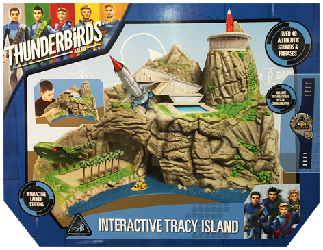 Packaging for the Thunderbirds Interative Tracy Island