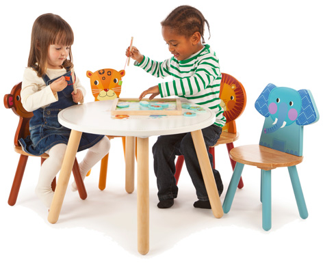 Tidlo Jungle Tab;e with Chairs