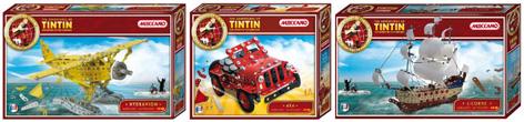TinTin Construction Toys from Meccano