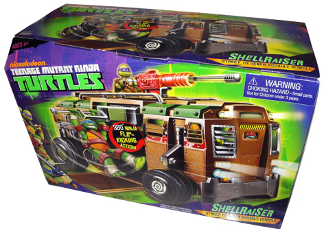 Shellraiser toy packaging