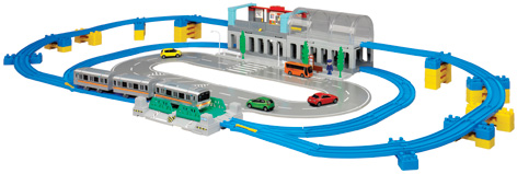 The Tomica Metro City Set