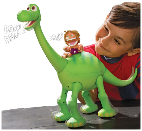 Ultimate Arlo and Spot Dinosaur Figure