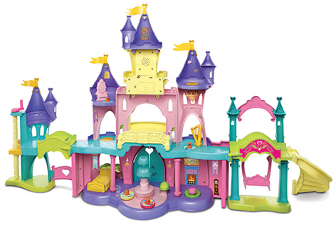 Toot-Toot Friends Kingdom Enchanted Princess Palace