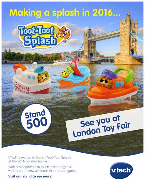 Toot-Toot Splash trade advert