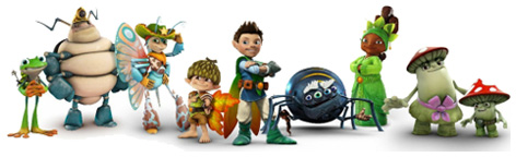 Tree Fu Tom Toys Treeopolis Playset Action Figures