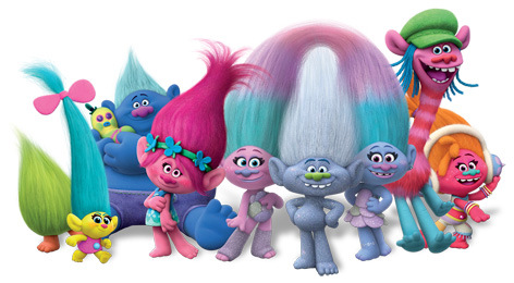 Troll Dolls Collectable Troll Toy Figures