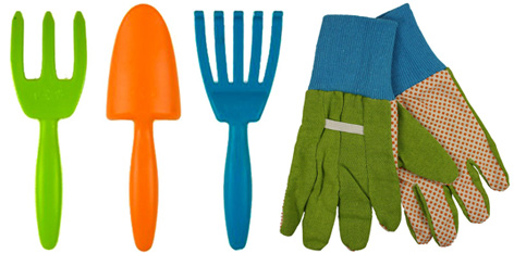 Children 39 s gardening toys from twigz twigz hand tools for Childrens gardening tools