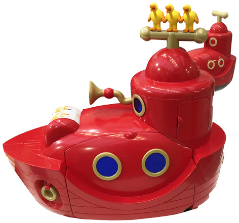 Twirlywoos Big Red Boat