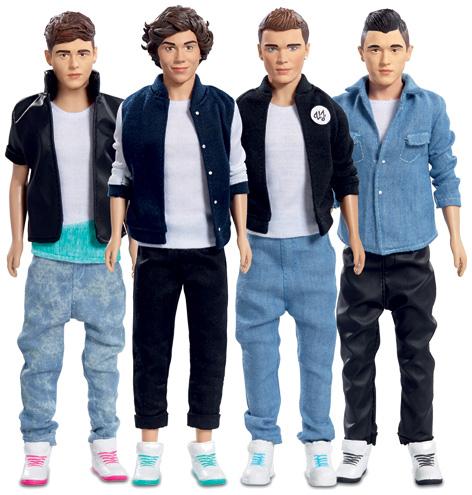 Union J Dolls