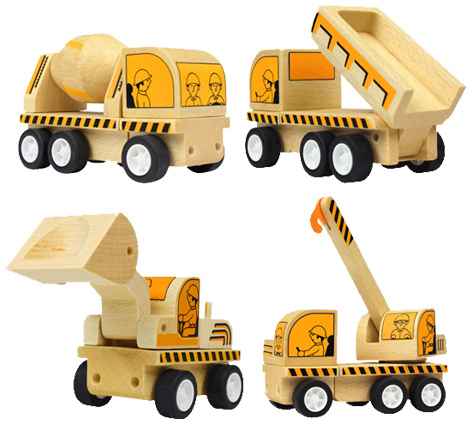 Varoom 4-Vehicles Construction Set
