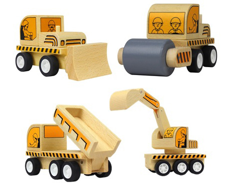 Woodplay Varoom Demolition Set