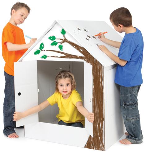 Velcro Kids Playhouse