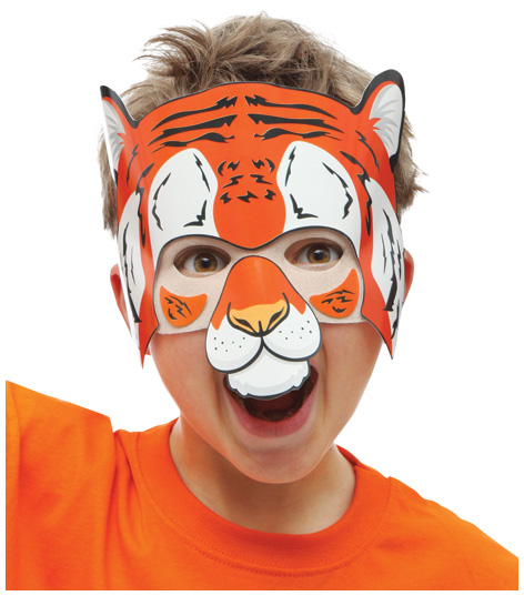 Velcro Kids Tiger Mask