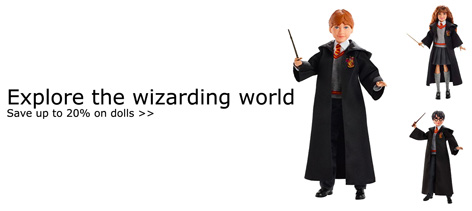 20% discount on wizarding toys