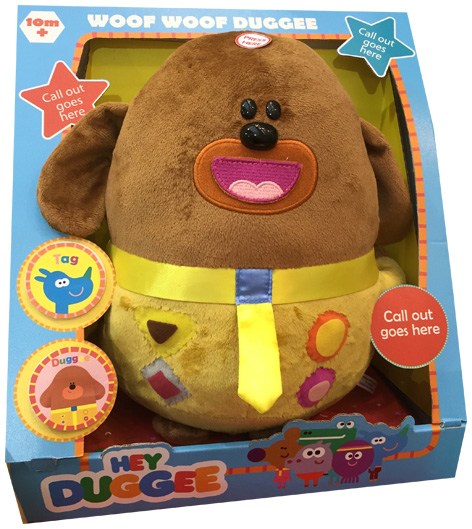 Woof Woof Duggee soft toy