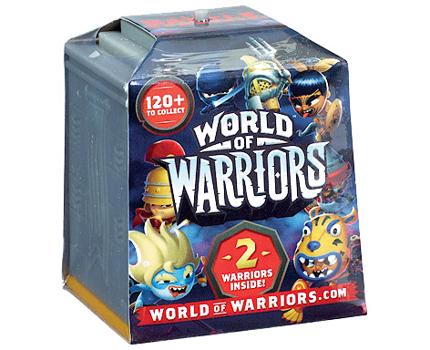World Of Warriors Collectable 2-Pack