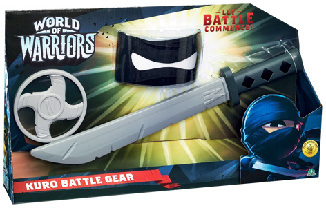 World Of Warriors Battle Gear
