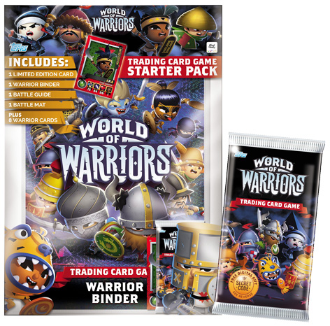 World Of Warriors Topps Trading Card Starter Pack