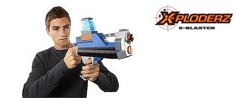 The X-Ploderz X-Blaster 75 Toy Gun