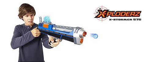 The X-Ploderz X-Stormer 575 Toy Gun