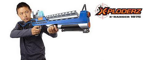 The X-Ploderz X-Ranger 1075 Toy Gun