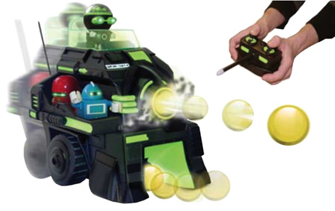 Promotional image of the Zibits ZX-34 radio-controlled robot