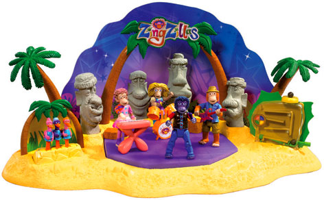The Big Zing Playset
