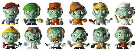Zombie Zity Characters