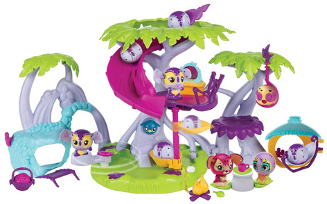 Zoobles Razoo's Treehouse PLayset