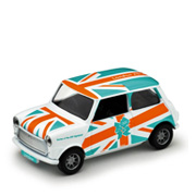 A London 2012 Die-Cast Mini Car